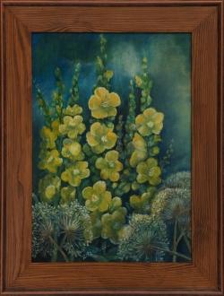Magnolie. 40x60 cm