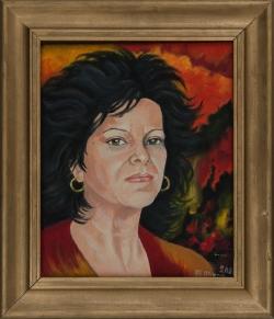 Portret Anny Katarzyny Zgódki. Abratowska Bożena. 40x50 cm